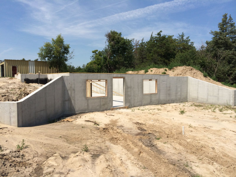 concrete basements berggren home builders gallery