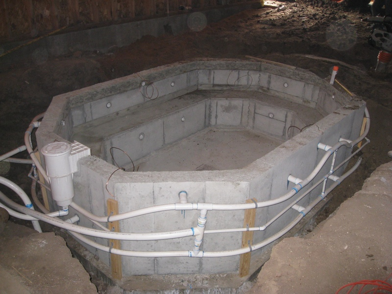 Swimming pool construction: highlights