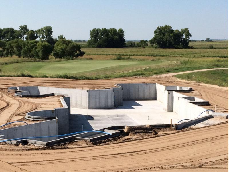 Concrete Basements Berggren Home Builders Projects